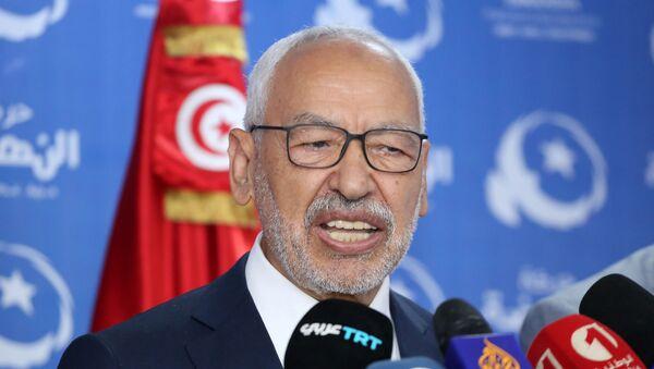 Rached Ghannouchi, leader du parti islamique tunisien Ennahda. - Sputnik France