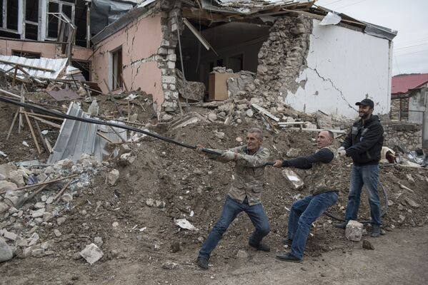 Le Haut-Karabakh depuis la trêve fragile   - Sputnik France