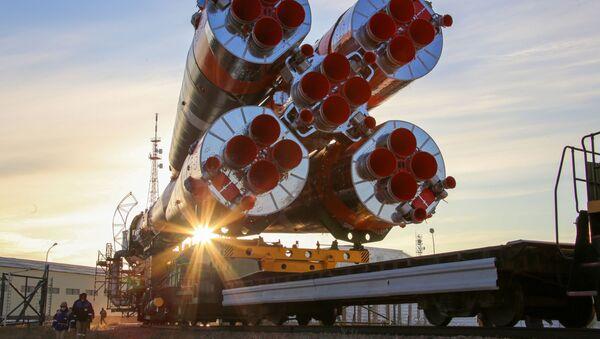 Le vaisseau spatial Soyouz MS-17 - Sputnik France