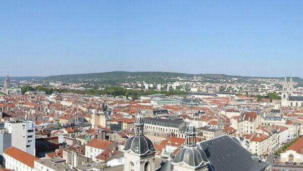 Panorama sur le centre ville de Nancy, Lorraine, France (depuis les tours Saint-Sébastien) - Sputnik France