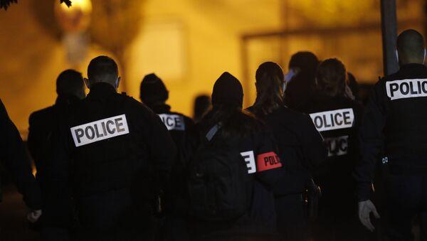 La police sur les lieux de l'attaque à Conflans-Sainte-Honorine, le 16 octobre 2020 - Sputnik France