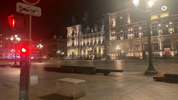 Paris lors de la 1ère soirée du couvre-feu - Sputnik France