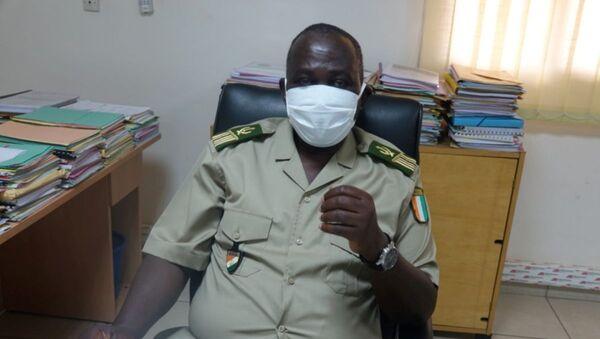 Le directeur régional des Douanes du Sud-Comoé, le colonel Fatiga Mohamed - Sputnik France