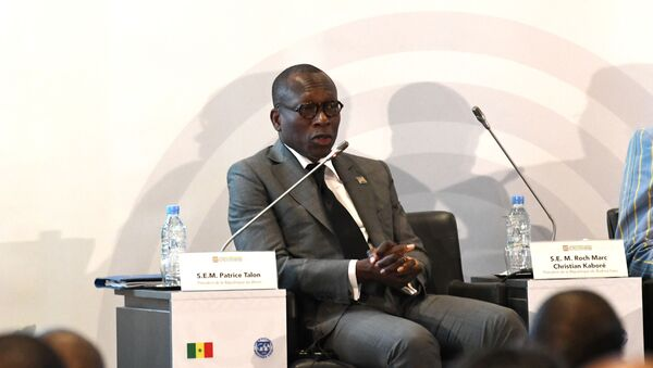 Le Président béninois Patrice Talon - Sputnik France