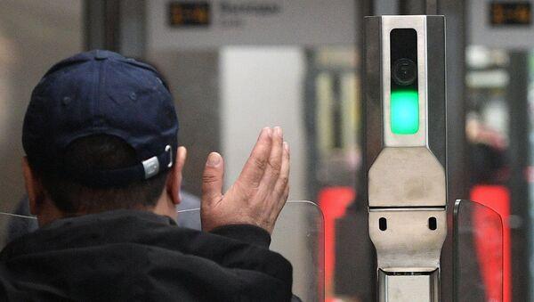 Système de reconnaissance faciale dans le métro moscovite - Sputnik France