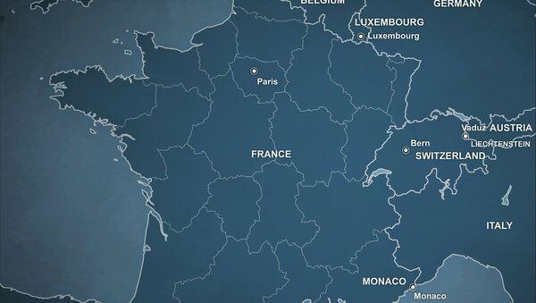 Une carte de France - Sputnik France