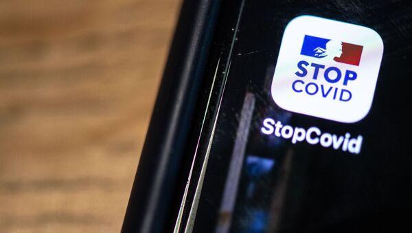 Application StopCovid - Sputnik France