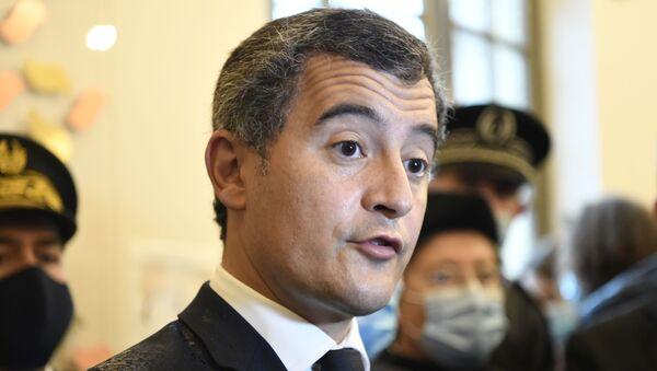 Gérald Darmanin, Ministre de l'Intérieur de France - Sputnik France
