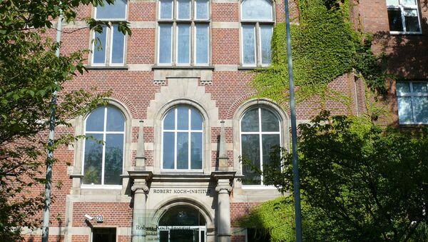 Institut Robert Koch à Berlin (archive photo) - Sputnik France