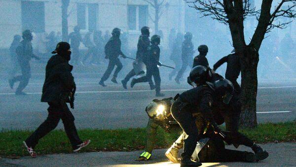 Protestations en Biélorussie - Sputnik France