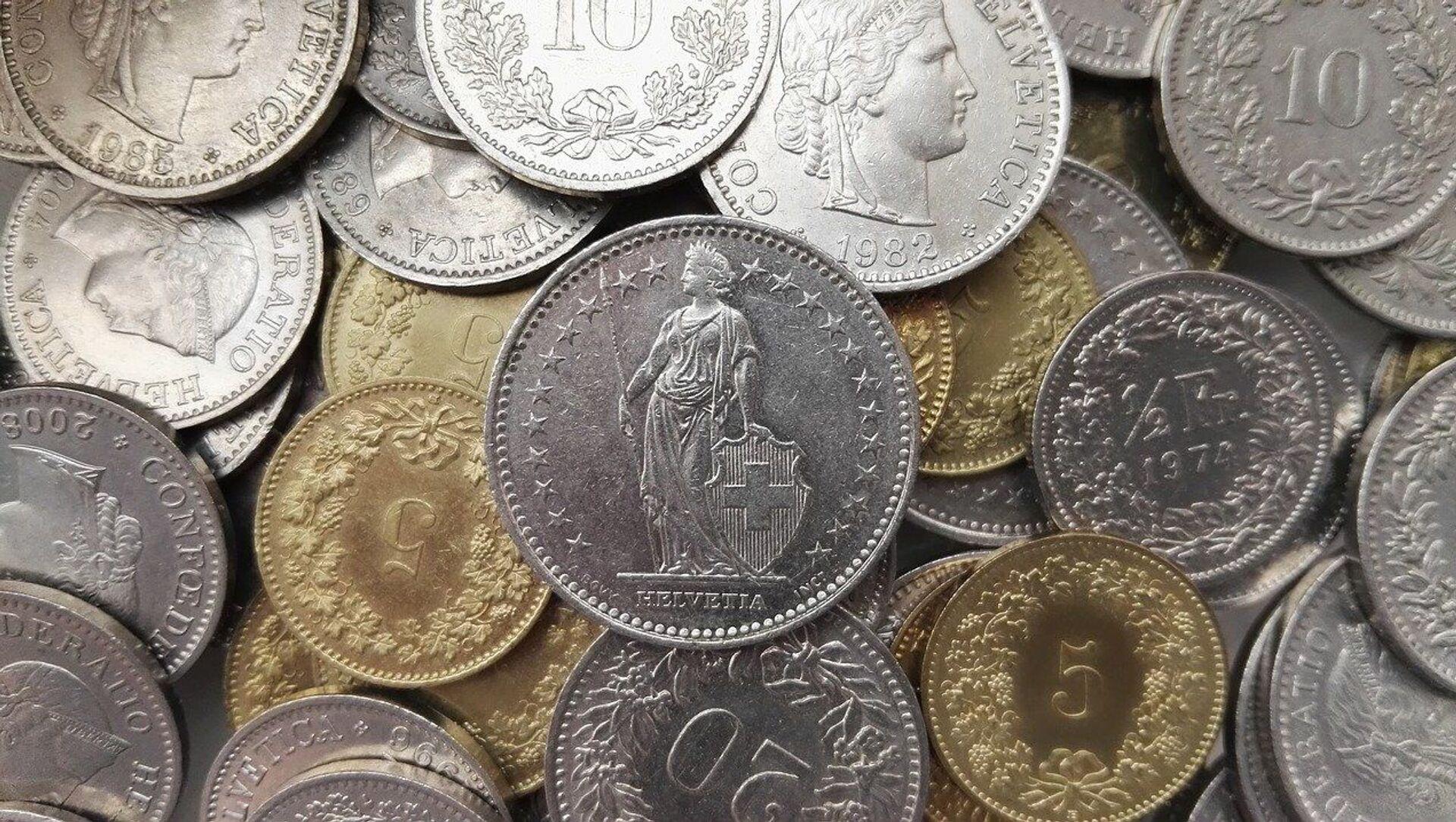 Francs suisses - Sputnik France, 1920, 31.07.2021
