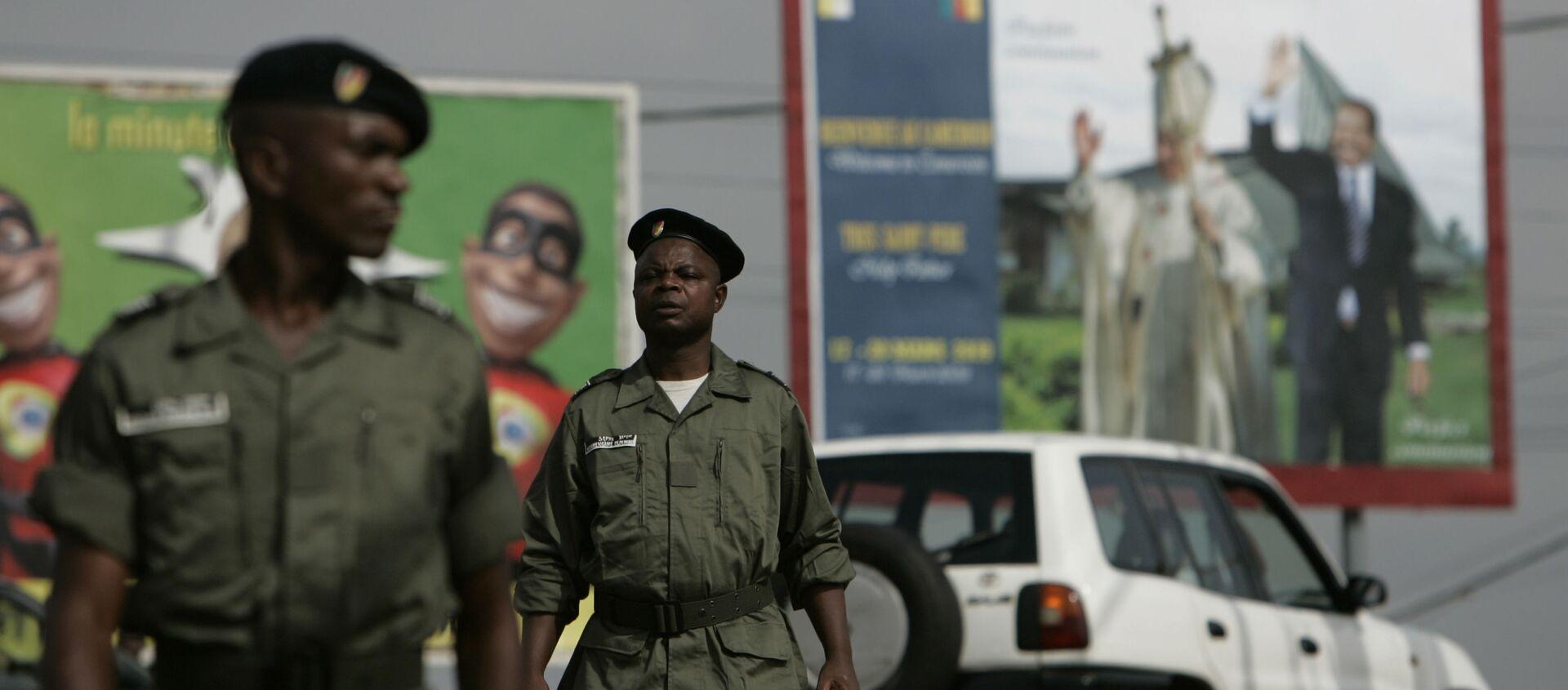 Des policiers au Cameroun - Sputnik France, 1920, 27.10.2020