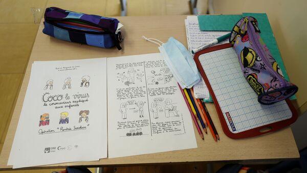 Une salle de classe dans une école - Sputnik France