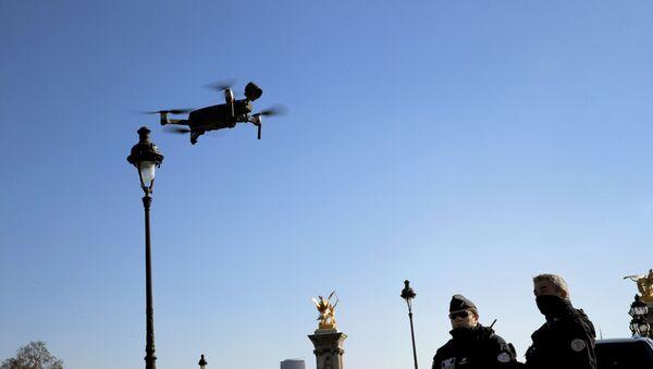 Drone à Paris - Sputnik France
