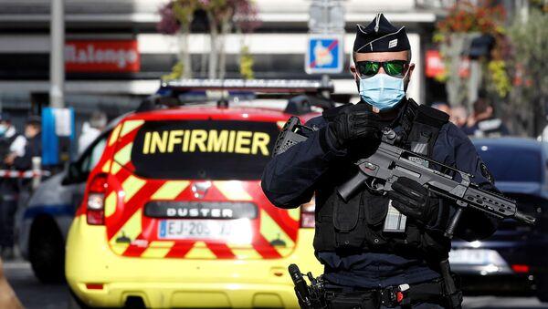 Attaque au couteau à Nice, le 29 octobre 2020 - Sputnik France