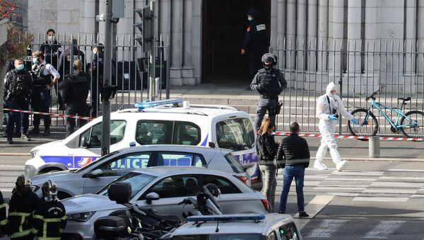 Situation à Nice après l'attentat  - Sputnik France