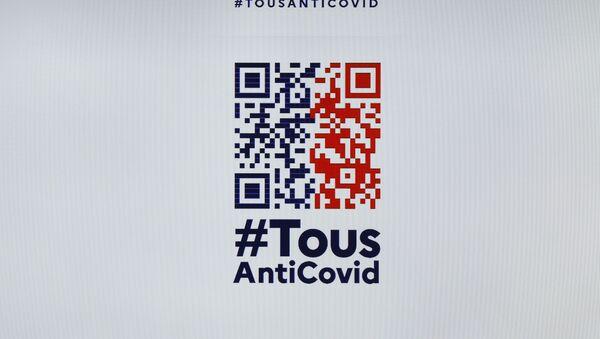 Logo de l'application TousAntiCovid - Sputnik France