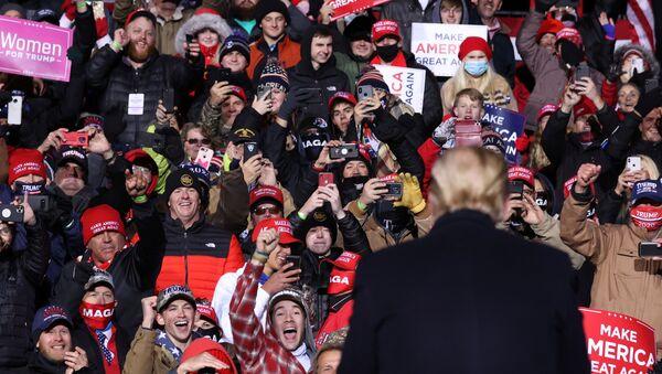 Meeting de Trump à Omaha, dans le Nebraska - Sputnik France