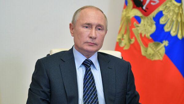 Vladimir Poutine (photo d'archives) - Sputnik France