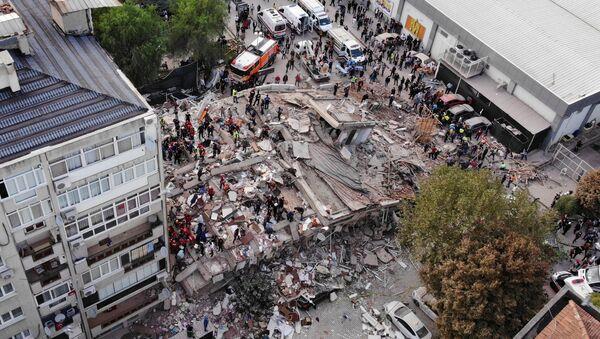 La ville turque d'Izmir a été secouée le 30 octobre par un séisme de magnitude 6,9 - Sputnik France