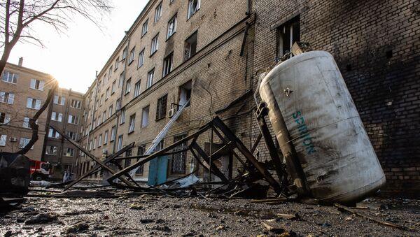 L'hôpital N°2 de Tcheliabinsk après une explosion, 31 octobre 2020 - Sputnik France