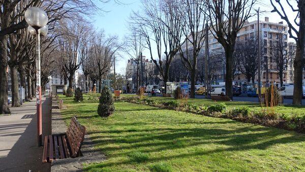 Place Jean-Macé à Lyon - Sputnik France