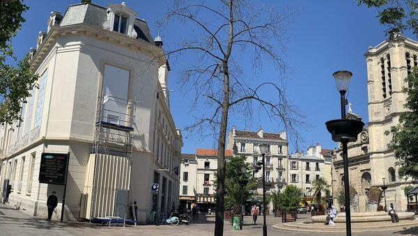 Place de l'Hôtel de Ville, Aubervilliers. - Sputnik France
