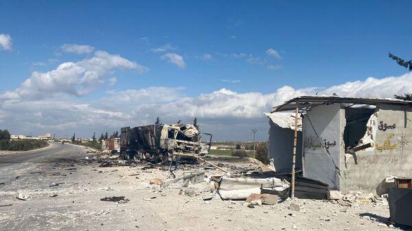 Dans la province syrienne d'Idlib - Sputnik France