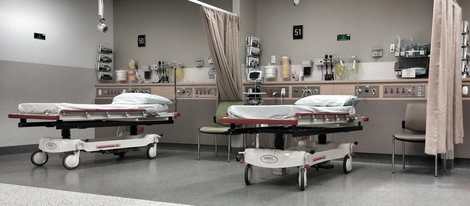 Lits d'hôpital - Sputnik France, 1920, 02.02.2021