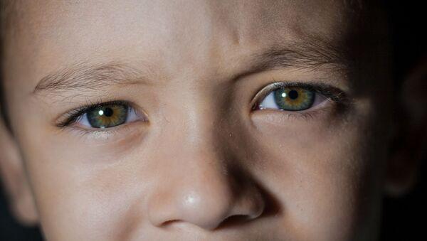Les yeux d'enfant. Image d'illustration - Sputnik France