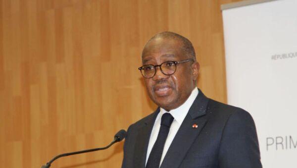 Les garde des Sceaux ivoirien, Sansan Kambilé - Sputnik France
