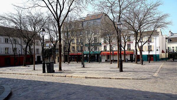 A Paris lors du confinement - Sputnik France