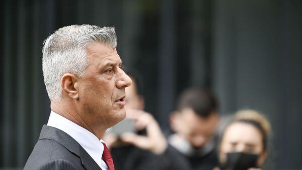 Hashim Thaci, Président de la république autoproclamée du Kosovo - Sputnik France