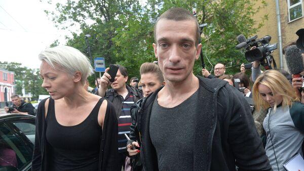 Oksana Chalyguina et Piotr Pavlenski, archives - Sputnik France