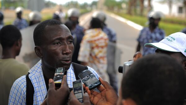 Ferdinand Ayite, le directeur de publication du journal togolais L'alternative - Sputnik France