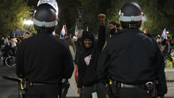 Manifestation BLM à New York - Sputnik France