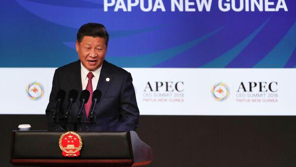 Xi Jinping au sommet de l'APEC en 2018 - Sputnik France