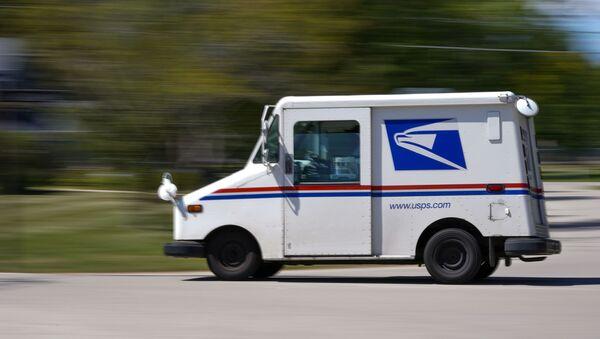 camion postal de l'USPS  - Sputnik France