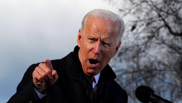 Le candidat démocrate à la présidentielle américaine, Joe Biden - Sputnik France