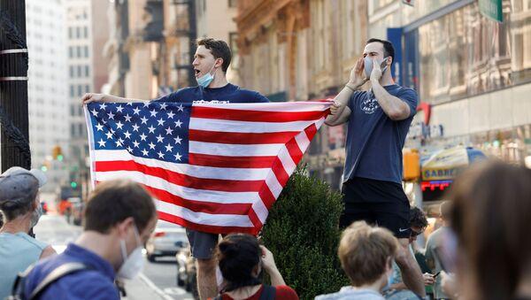Situation aux États-Unis après l'annonce de la victoire de Biden  - Sputnik France