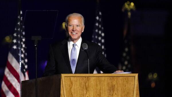Le discours de Joe Biden à Wilmington - Sputnik France
