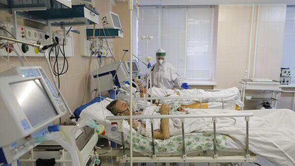 Un hôpital russe pour les personnes atteintes du Covid-19 (archive photo) - Sputnik France