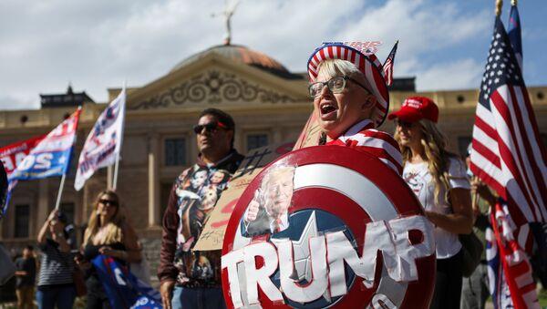 Supporters de Donald Trump - Sputnik France
