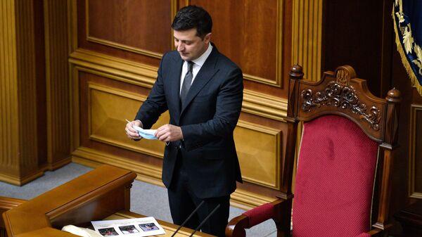 Volodymyr Zelensky - Sputnik France