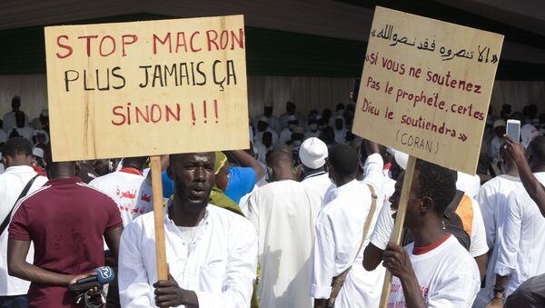 Manifestation anti-Macron à Dakar - Sputnik France