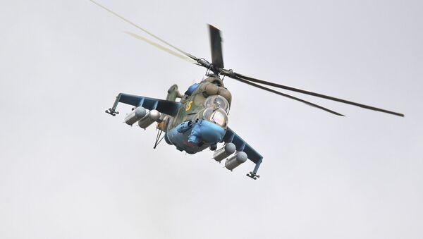 Un hélicoptère Mi-24 (archive photo) - Sputnik France