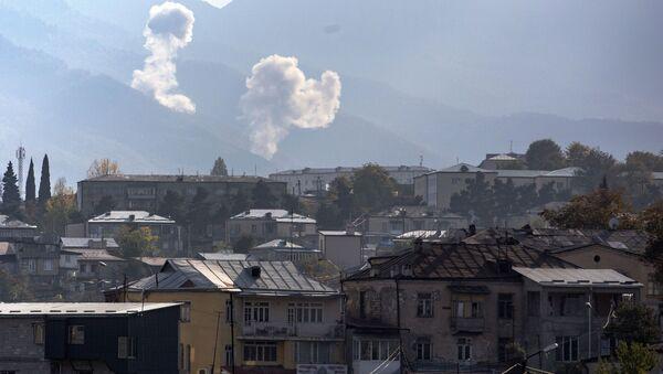 Situation au Haut-Karabakh, octobre 2020  - Sputnik France