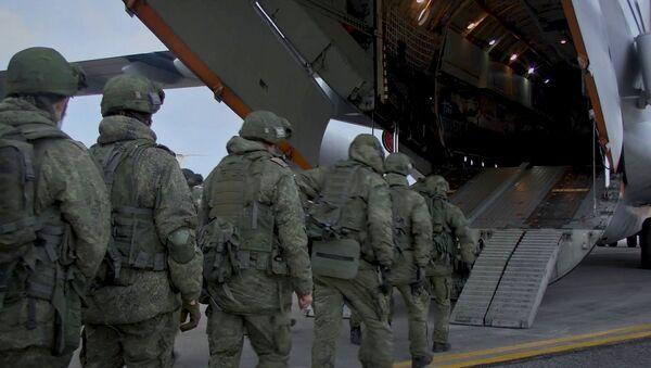 La Russie envoie ses soldats russes de la paix dans le Haut-Karabakh - Sputnik France