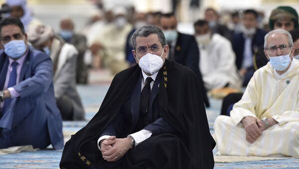 Le Premier ministre algérien Abdelmadjid Djerad le jour de l'inauguration de la Grande Mosquée d'Alger - Sputnik France