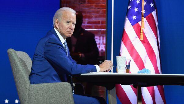 Joe Biden, en visioconférence - Sputnik France